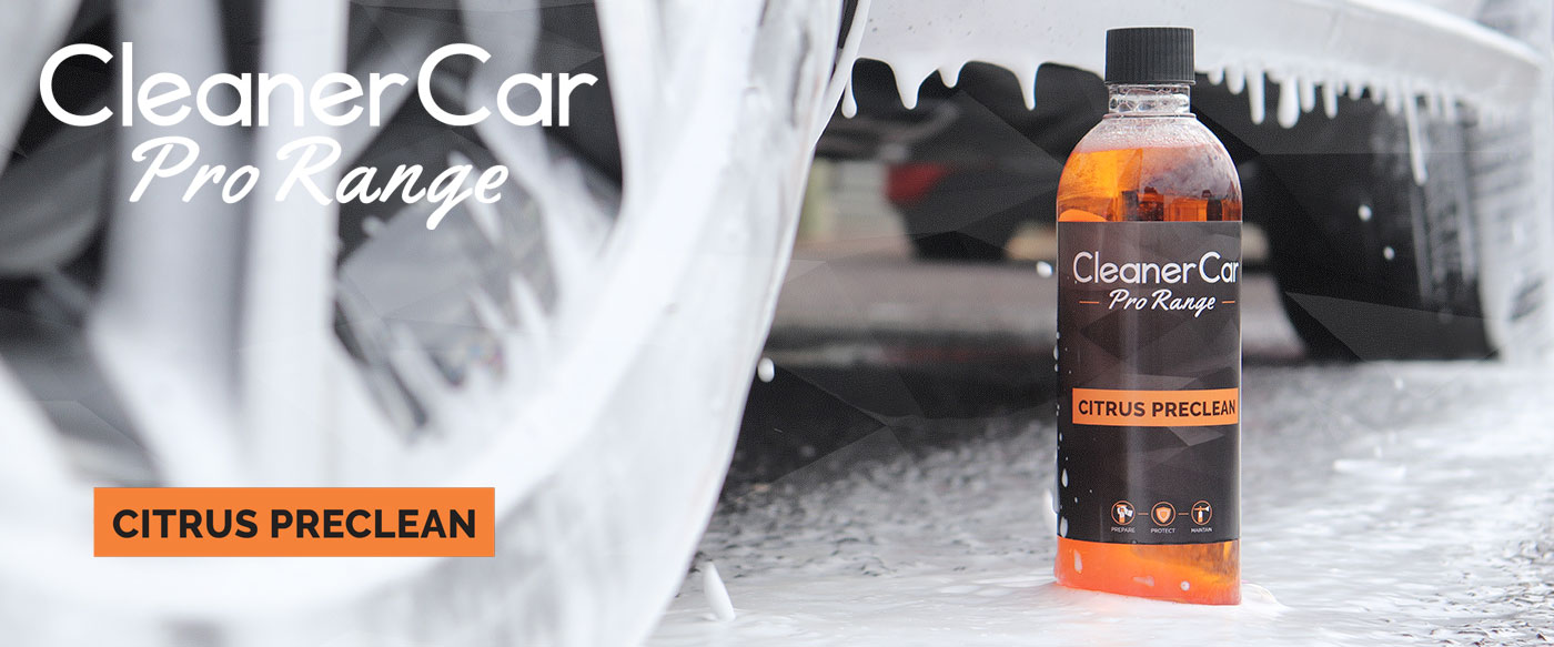Promo Image of CleanerCar Pro Range Citrus Cleaner
